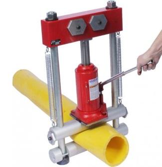 Гидравлические передавливатели для ПНД труб